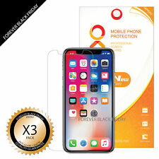 iPhone X Screen Protector 3x Anti-Glare Matte Cover Guard Shield Saver