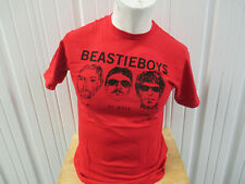 Vintage Beastie Boys Face Drawing Medium Red T-Shirt Ad-Rock M.C.A. Mike D
