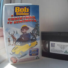 Bob the Builder - A Christmas to Remember VHS Video