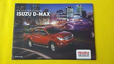 Isuzu D-Max Eiger Yukon Utah Blade Utility official sales brochure 2016 MINT Max