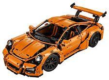 LEGO Technic 42056 - Porsche 911 GT3 RS,  - zusammengebaut, TOP ZUSTAND !