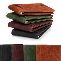 Otto Angelino Top Grain Leather Wallet with Money Clip - RFID Blocking _ Unisex