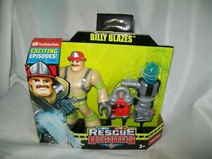 BRAND NEW FISHER PRICE RESCUE HEROES BILLY BLAZES