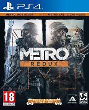 Metro Redux (Sony PlayStation 4, 2014)