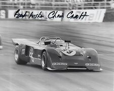 Chris craft hand signed photo 10x8 le mans 1.