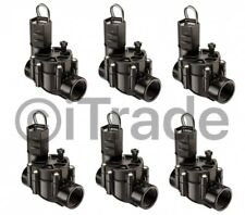 *Lot of 6* Rain Bird Cp100 1-in Plastic Electric Inline Irrigation Valve New Fsh