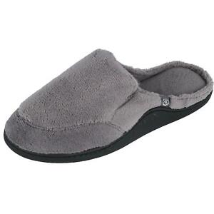 New Isotoner Men's Microterry Open Back Clog Slippers