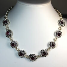 Silver-Plated Sprockets, Wire Wrapped and Chain Maille Necklace