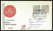 GERMANY FDC 1980 CONFESSIO AUGUSTANA MARTIN LUTHER CATECHISM LUTERO bv22