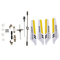 Full Set Replacement Parts for Syma S107 RC Helicopter+Main Blades/Shaft DT