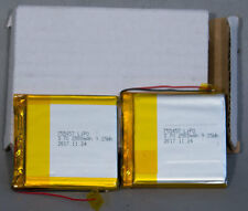 Qty. 2: NEW PN: 755457 Lithium Ion Polymer LiPO Battery 3.7 V 2500 mAh 9.25 Wh