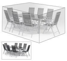 Schutzhülle Abdeckhaube für Sitzgruppe Gartenmöbel Plane transparent GZ1197tp