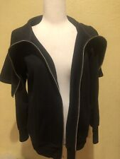 AIKO Black Zipper Sweater NWT Size Small