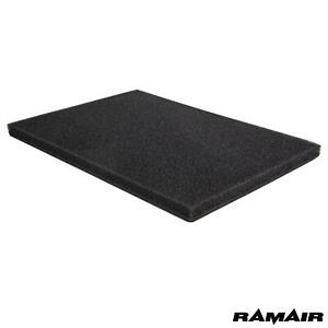 2x RAMAIR Air Filter Foam Pad Large Scooter Motorcycle Quad