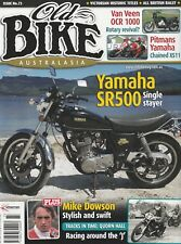Yamaha SR500   Harley KRTT   Universal B50 Meteor  Pitman's XS1100  OLD BIKE 73
