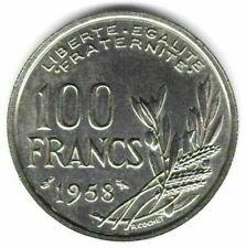 """--- 100 Francs Cochet 1958 Différent """"Chouette"""" en état SUP - 1"""