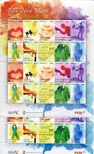 Malaysia 2011 Grußmarken 1. und 2. Auflage Greetings Stamps Kleinbögen MNH