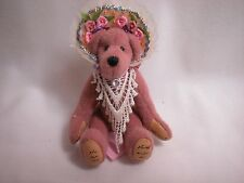 "Worldof Miniature Bears 3.5"" Cashmere Bear Rosalind #862 Collectible Bear"