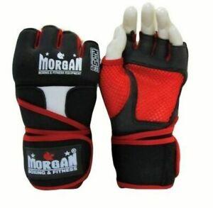 V2 Elite Gel Shock Hand Wraps - Boxing MMA Muay Thai Slip-Ons - Morgan Sports