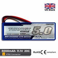 Turnigy 5000mAh 3S 11.1V 20C - 30C Burst Lipo Battery Pack - XT60