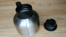 Newco Vaculator 1.9 Liter Thermal Coffee Carafe - Stainless Steel - 111445