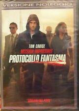 Dvd MISSION IMPOSSIBLE 4 Protocollo Fantasma ......NUOVO