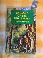 Vintage Hardback Cover Book Children Of The New Forest By Captain Marryat