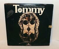 THE WHO-TOMMY-ORIGINAL SOUNDTRACK DOUBLE LP RECORD 2 X VINYL POLYDOR-PD 2 9502