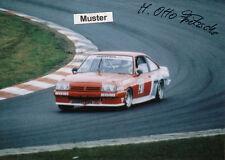 Autógrafo en foto 13x18 cm DTM 1986 Heinz-Otto Fritzsche-Opel Manta gte