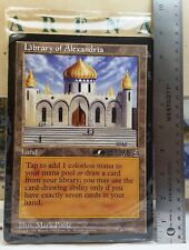 Library of Alexandria & 5 Other Factory Sealed Arena Jumbo Oversized Card Set