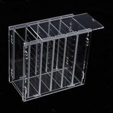1xClear Acrylic Eyelash Storage Organizer Box Make-up Lash Extensions Holder