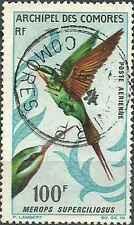 Timbre Oiseaux Comores PA21 o lot 13089