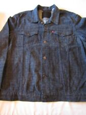 Levi's Men's Big Foot Blue Gray Slim Fit Trucker Jacket Size XXL 72333-0030