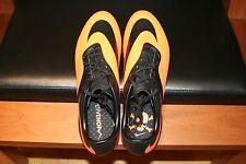 Men's Nike Hypervenom Phatal FG Soccer Cleats 599075 Black/Orange Size 10