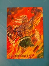 PROMO CARD - SKYBOX MASTER SERIES - DC COMIC EDITION - DOOMSDAY - #P1 - 1994