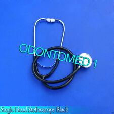 New Nurses Stethoscope Single Head Stethoscope Black, B-785