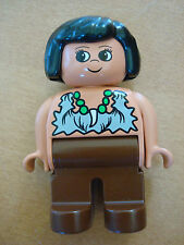 LEGO CAVE WOMAN, MOM, #4555 about 15 years old dinosaur pre-historic