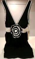 Sass & Bide BE FREE BUSTIER Dress 100% Silk New/Tags size 36