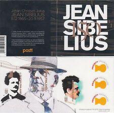 Jean Sibelius Music Art Booklet Finland MNH Stamps 2015