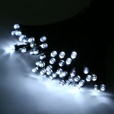 Solar Powered 100/200/500 LED Fairy Lights String Outdoor Wedding Party Xmas