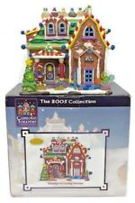 """2005 Lemax Carole Towne Dandy's Candy Gingerbread House Christmas Village 7"""""""