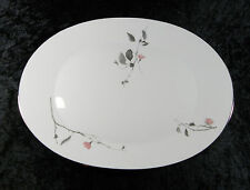 ROSENTHAL CONTINENTAL JAPANESE QUINCE PATTERN 15 1/2 INCH PLATTER