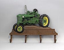 Eisenguss rustikal farbig Haken Hakenleiste Traktor grün  9937816