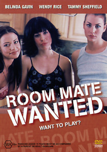 Candice Michelle ROOM MATE WANTED - HOT SULTRY LESBIAN SEX EROTIC THRILLER DVD