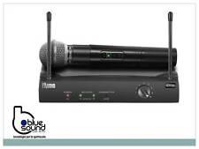 PROAUDIO PW210 Radiomicrofono professionale wireless palmare gelato vhf per voce