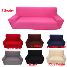 1/2/3/4 Seater Stretch Elastic Fabric Sofa Cover Slipcover Couch Covers Spandex