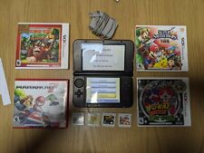Nintendo 3DS XL with 4 games! Great for the Beginner Nintendo Collector!