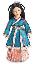 "Doll Clothes Carpatina Original Skirt Yuan Dynasty Gold Fits Slim 18"" Dolls"