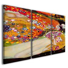 Stampe su tela Gustav Klimt Bisce d'acqua quadri moderni canvas picture ® TOP