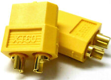 C0105 RC Compatible XT60 XT-60 Connector Yellow Male Female x 1 - v1 Best Set